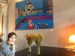 Надя Демкина художник Петербург выставка| Nadin Piter Надин Питер блог Нади Демкиной