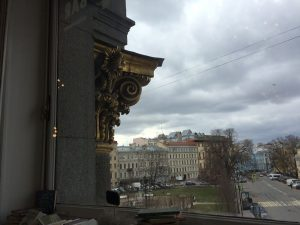 Манежная площадь Петербург вид окно | Nadin Piter Надин Питер блог Нади Демкиной
