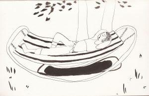 Скетч зарисовка Петербург дача | Nadin Piter Надин Питер блог Нади Демкиной