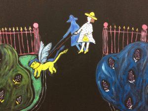Прогулки по Питеру Картина персонаж художник | Nadin Piter Надин Питер блог Нади Демкиной