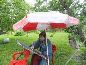 Пленэр скетч Петербург художник инструкция | Nadin Piter Надин Питер блог Нади Демкиной
