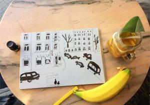 Тушь для рисования скетч зарисовка Петербург | Nadin Piter Надин Питер блог Нади Демкиной