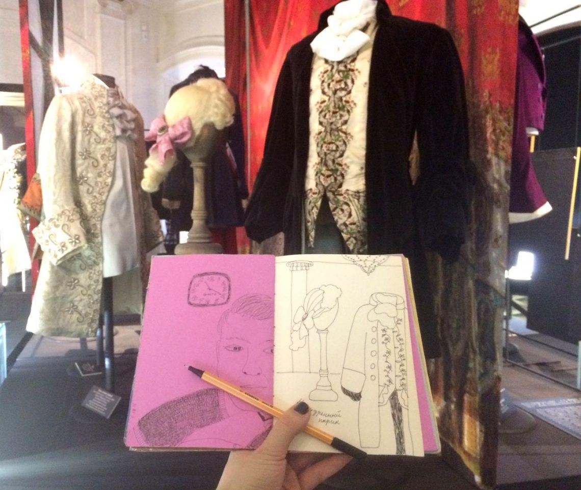 Тушь для рисования скетч зарисовка музей Петербург | Nadin Piter Надин Питер блог Нади Демкиной
