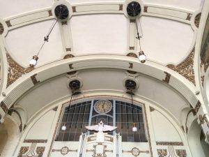 Витебский вокзал модерн потолок Петербург | Nadin Piter Надин Питер блог Нади Демкиной