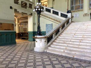 Витебский вокзал модерн вестибюль Петербург | Nadin Piter Надин Питер блог Нади Демкиной