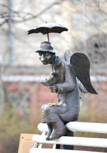 Петербург Ангел скульптура Роман Шустров художник Надя Демкина | Nadin Piter Надин Питер блог Нади Демкиной