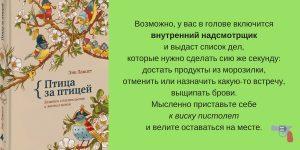 Книги о писательстве творчестве Энн Ламотт обзор Надя Демкина | Nadin Piter Надин Питер блог Нади Демкиной