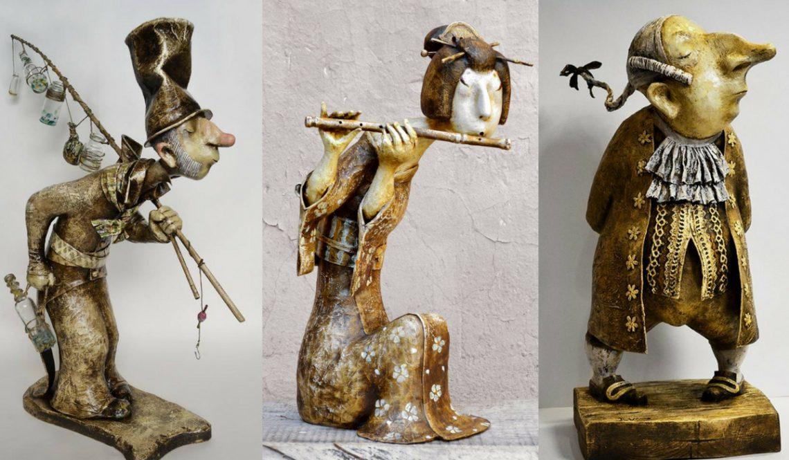 Роман Шустров скульптор кукольник художник интервью Надя Демкина | Nadin Piter Надин Питер блог Нади Демкиной