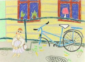 Велосипед история Петербург Надя Демкина художник | Nadin Piter Надин Питер блог Нади Демкиной