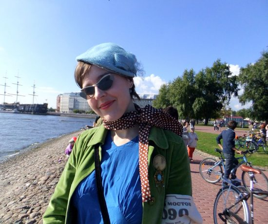 Велосипед ретро история Петербург Надя Демкина художник | Nadin Piter Надин Питер блог Нади Демкиной