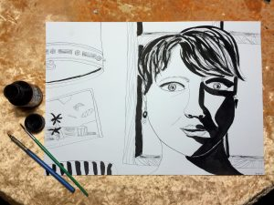 Как начать рисовать материалы для рисования Надя Демкина | Nadin Piter Надин Питер блог Нади Демкиной