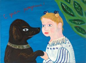 Материалы для рисования картина акрил Надя Демкина | Nadin Piter Надин Питер блог Нади Демкиной