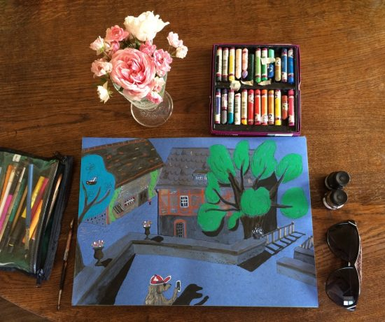 Надя Демкина художник Как рисовать в путешествии тревелбук скетчбук художника | Nadin Piter Надин Питер блог Нади Демкиной