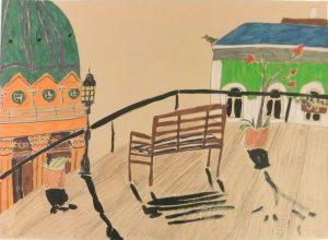 Надя Демкина художник Где рисовать осенью 11 мест для пленэра в Петербурге | Nadin Piter Надин Питер блог Нади Демкиной