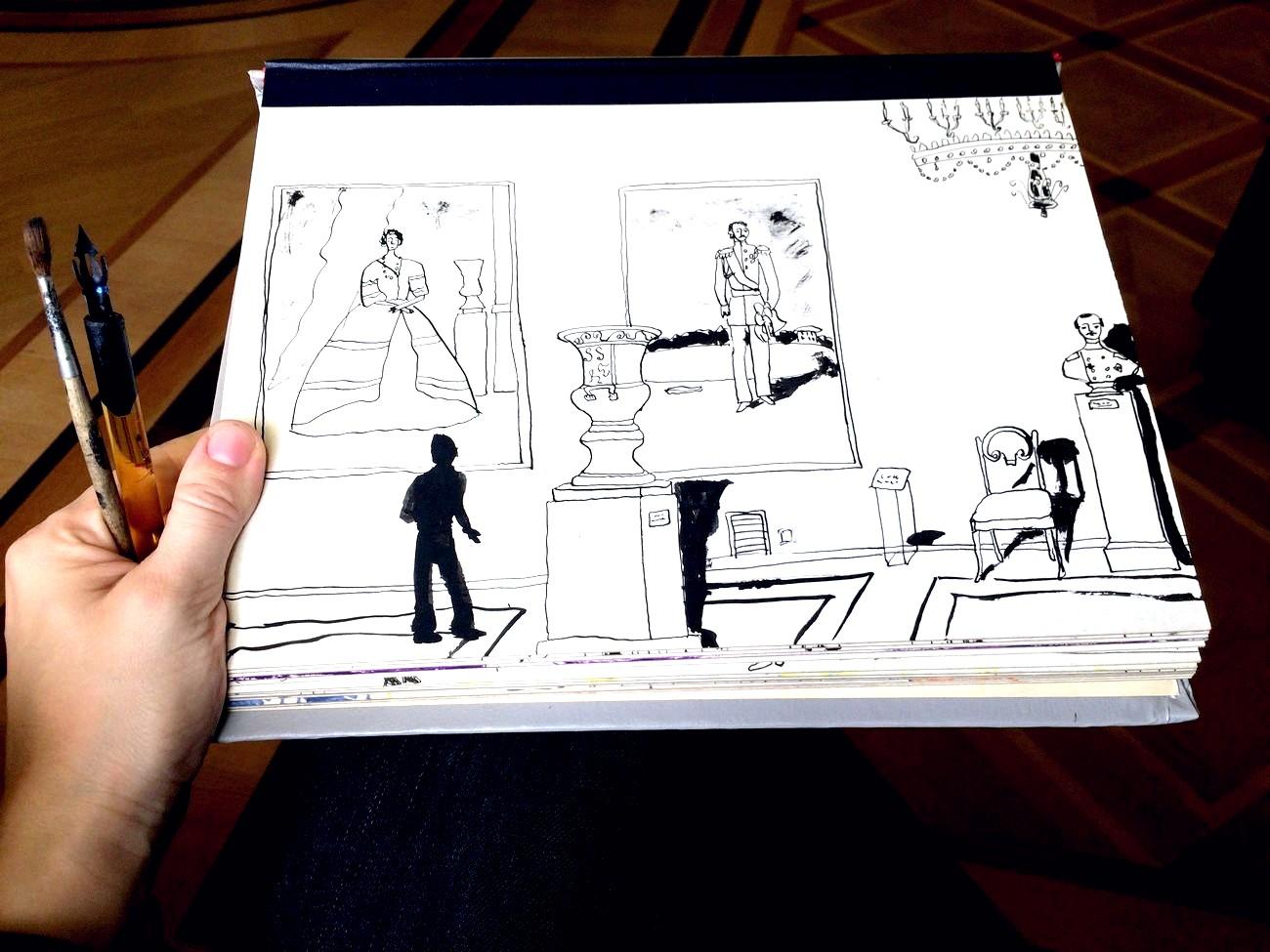 Скетчбук для художника: 10 причин, чтобы завести его | Nadin Piter Надин Питер блог Нади Демкиной