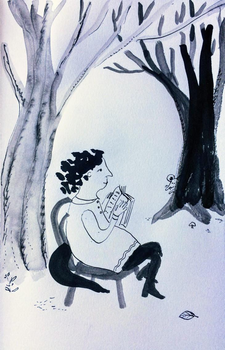 Встречи иллюстраторов: лекция художницы Варвары Помидор о работе над Простодурсеном | Nadin Piter Надин Питер блог Нади Демкиной
