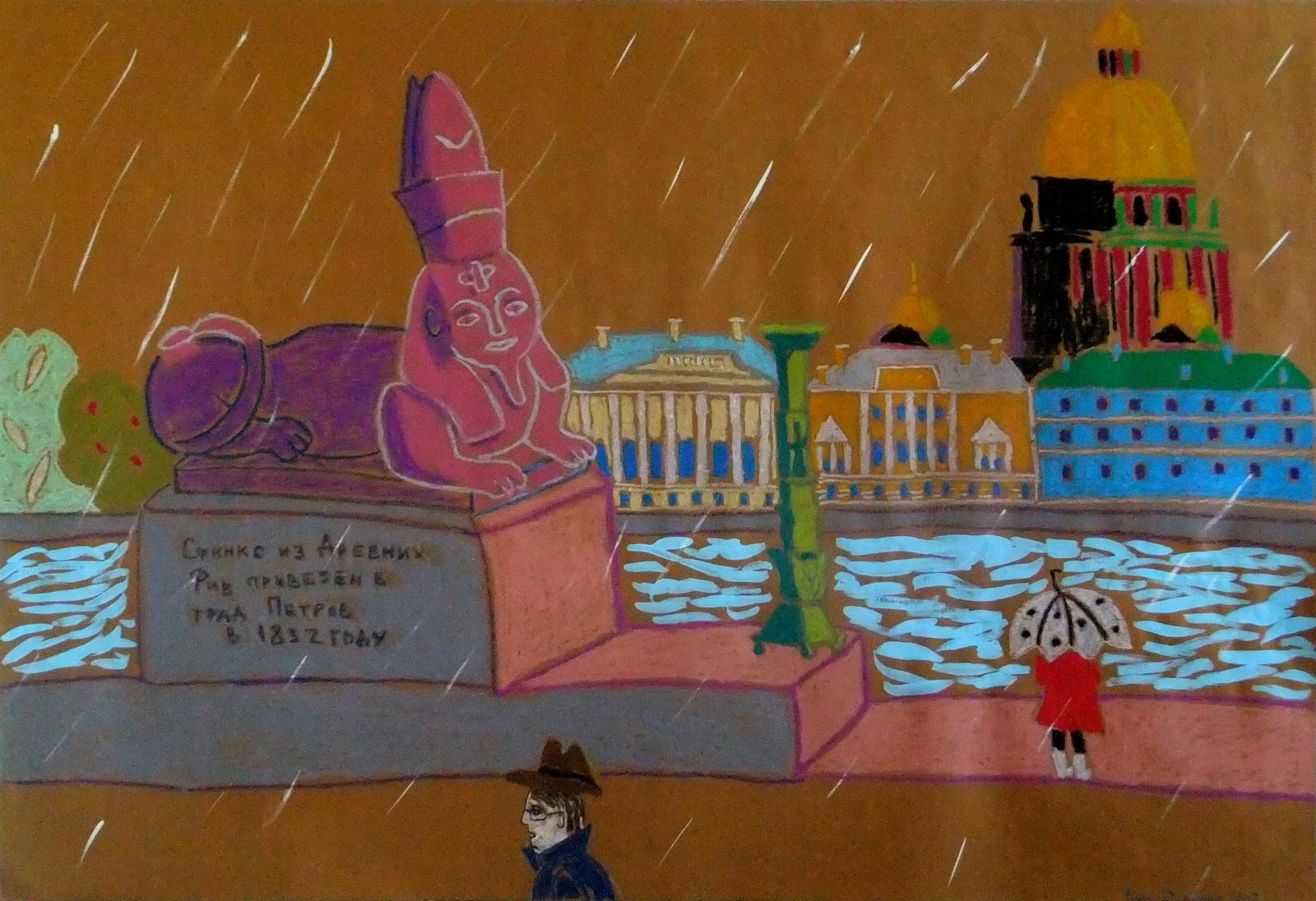Когда скетч превращается в картину: 5 этапов и 5 историй от художника | Nadin Piter Надин Питер блог Нади Демкиной