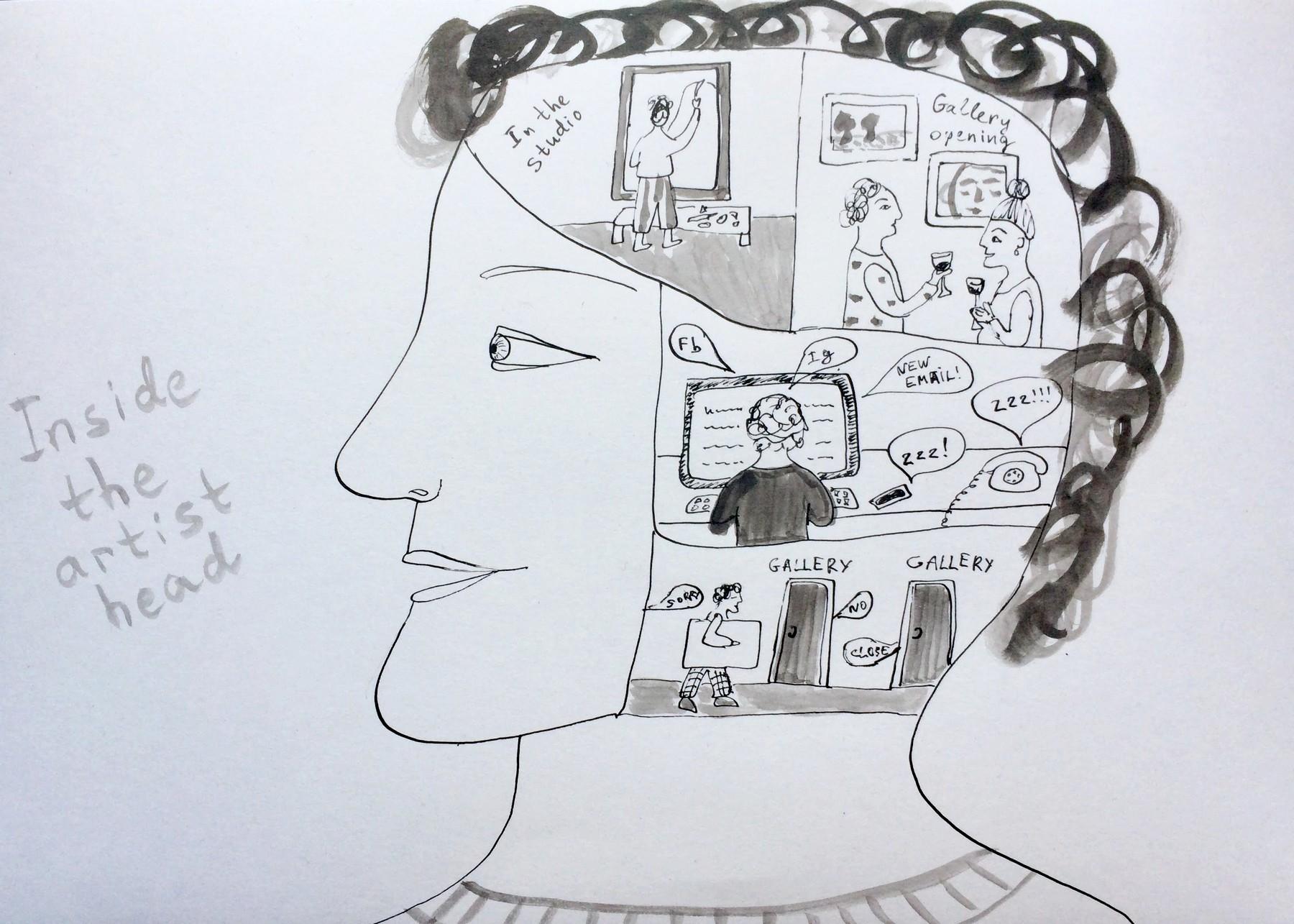 15 телеграм каналов для художников, иллюстраторов и творческих людей | Nadin Piter Надин Питер блог Нади Демкиной