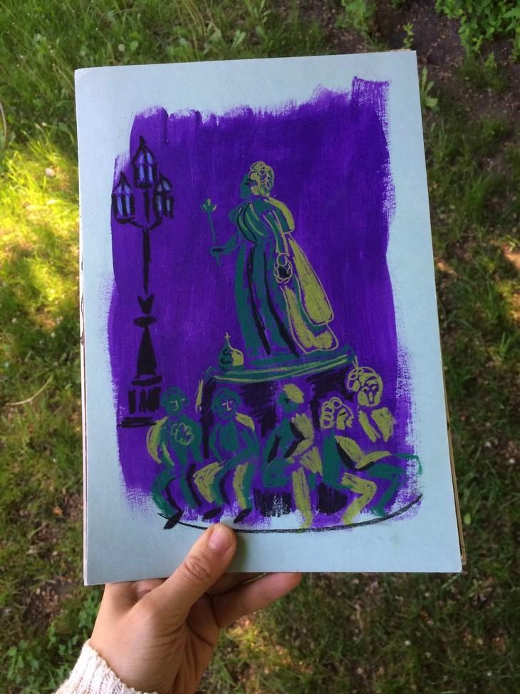 Рисую любимый Петербург - 7 бесплатных подарков для художника | Nadin Piter Надин Питер блог Нади Демкиной