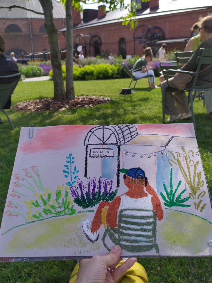 Рисую каждый день - 7 бесплатных подарков для художника | Nadin Piter Надин Питер блог Нади Демкиной