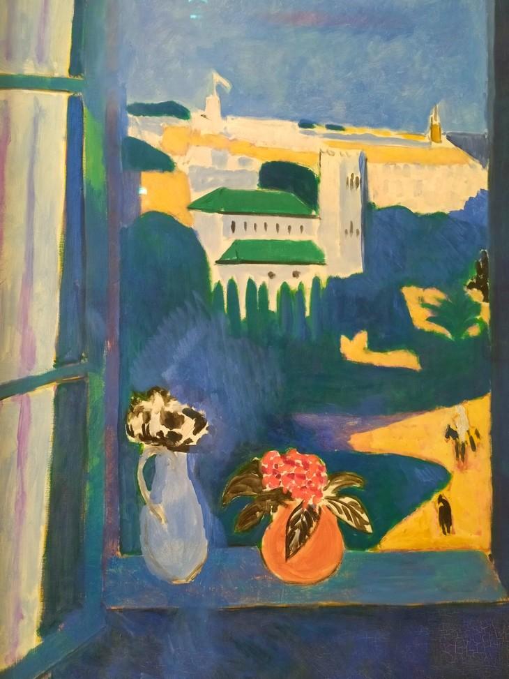Картина Матисса на выставке в Эрмитаже - 7 бесплатных подарков для художника | Nadin Piter Надин Питер блог Нади Демкиной